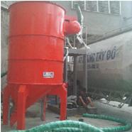 Máy hút xi măng từ silo chứa ra xe bồn