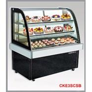 Tủ trưng bày bánh kính cong Berjaya CKE 3SCSB