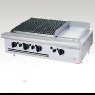 Bếp nướng chiên bề mặt dùng gas