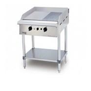 Bếp chiên nửa phẳng nửa nhám dùng gas chân đứng