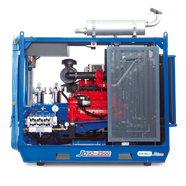 Máy xịt rửa siêu cao áp Combijet JD90-2500/16 (Chạy dầu)