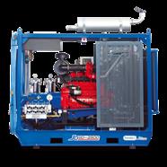 Máy phun rửa áp lực cao Combijet JD90-500 (Chạy dầu)
