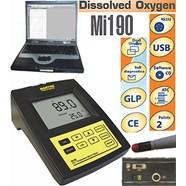 Máy đo Oxy hòa tan - Nhiệt độ để bàn điện tử hiện số model Mi 190