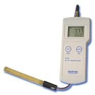 Máy đo pH/mV/Nhiệt độ cầm tay điện tử hiện số model Mi106