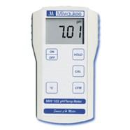 Máy đo pH/Nhiệt độ cầm tay điện tử hiện số model MW102