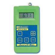 Máy đo pH-Nhiệt độ cầm tay điện tử hiện số model SM102