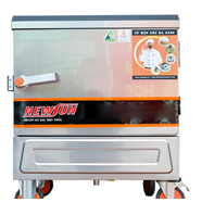 Tủ hấp cơm 4 khay dùng điện nhập khẩu (12kg gạo/lần) KN-THTQĐ4K
