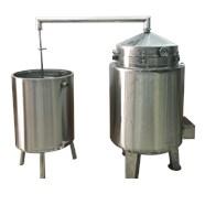 Nồi nấu rượu inox 100 kg/mẻ KN-NR100