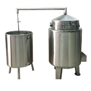 Nồi nấu rượu inox 40 kg/mẻ KN-NR40