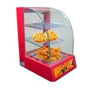 Tủ giữ nóng thức ăn 1 khay kính cong KN-TGN1P