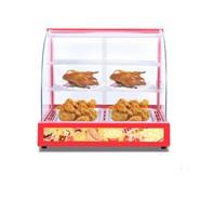 Tủ giữ nóng thức ăn 2 khay kính cong KN-TGN2P
