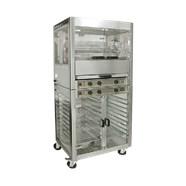 Máy quay gà kèm tủ giữ nóng Roller Grill RBE 25 + RE 2