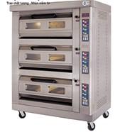 Lò nướng bánh dùng gas 3 tầng, 6 khay GFO-6C