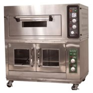 Lò nướng bánh 1 tầng 1 khay với tủ ủ bột 4 khay TINSO TS-111