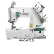 Máy viền cùi chỏ xén phải tự động SIRUBA C007KD-W532-356/CR/UTP/CL/RLP/CX (vô lưng quần lót nam)