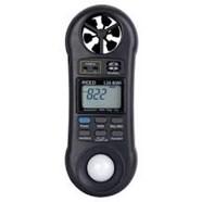 Máy đo tốc độ gió, độ ẩm, ánh sáng và nhiệt độ điện tử LM8000