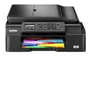 Máy in phun màu Brother Đa chức năng MFC-J200 (In wifi/scan/copy/fax)