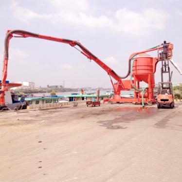 may hut xi mang cong suat lon(cement ship unloader) hinh 1