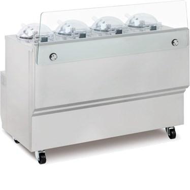 may lam kem frigomat gx4 machine for fresh gelato hinh 1