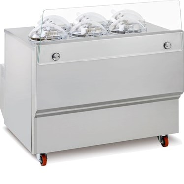 may lam kem frigomat gx6 machine for fresh gelato hinh 1
