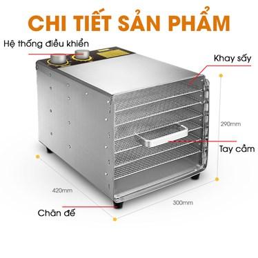 may say hoa qua mini 6 khay kn - ms6k hinh 1