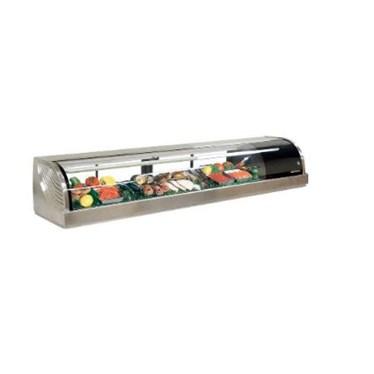tu trung bay sushi 1500mm hnc-150be-l/r-s hinh 1