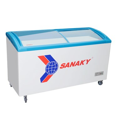 tu dong trung bay kem sanaky inverter 340 lit vh-4899k3  hinh 1