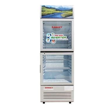 tu mat inverter sanaky vh-408w3l low-e 340 lit hinh 1