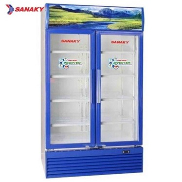 tu mat 2 canh inverter sanaky 1100 lit vh-1209hp3 hinh 1