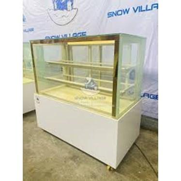tu mat trung bay banh kem 500 lit snow village gb-3004l.z4  hinh 1