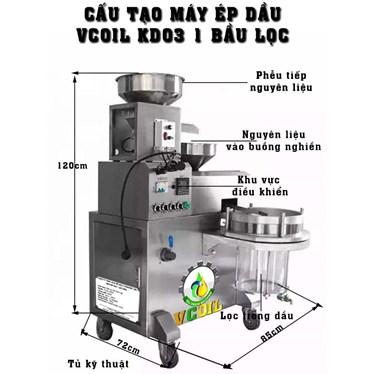 may ep dau vcoil kd03 1 bau loc cong suat ep 20-25kg/gio hinh 1