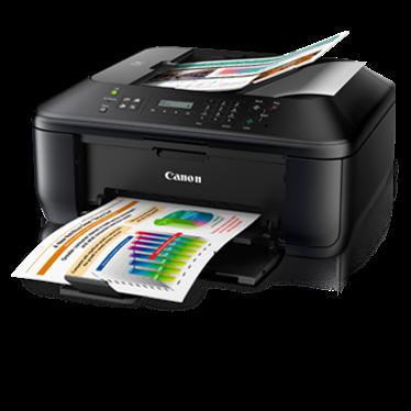 máy in phun màu canon da chúc nang mx377 (in/scan/copy/fax) hinh 1