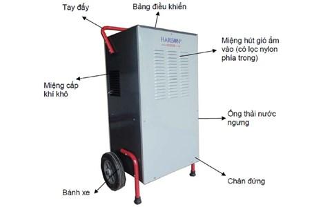 may hut am cong nghiep harison hd-100bm(100l/24h) hinh 2