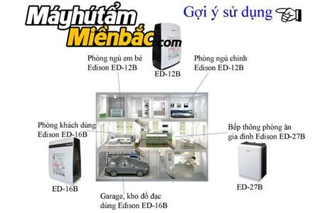 may hut am edison ed-27b(27lit/ngay) hinh 6