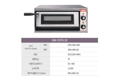 lo nuong pizza grand woosung ws-cepg20 hinh 2