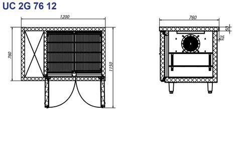 ban mat inox 2 cua turbocool 300 lit uc 2g 76 12 hinh 2