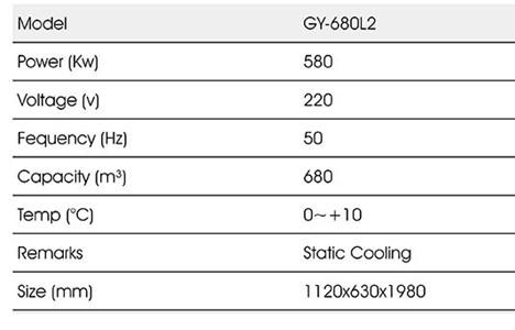 tu mat trung bay 2 canh okasu gy-680l2 hinh 2