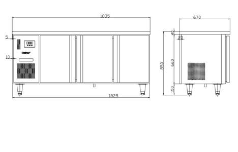 ban mat 3 canh inox kolner bn18-xl3 (lam lanh quat gio) hinh 2