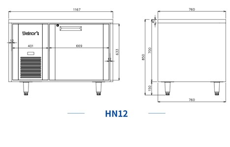 ban mat 1 canh inox kolner hn12 (lam lanh quat gio) hinh 2