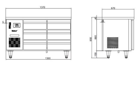 ban mat 4 ngan keo inox kolner bn14-xd4 (lam lanh quat gio) hinh 2
