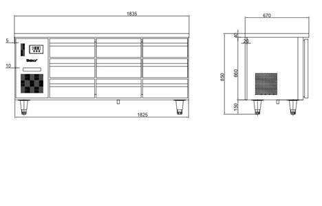 ban mat 9 ngan keo inox kolner bbn18-xd9 (lam lanh quat gio) hinh 2
