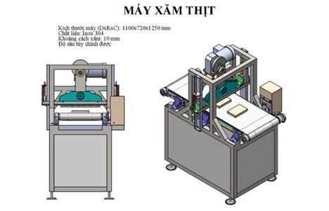 may xam thit okasu ks-1100 hinh 2