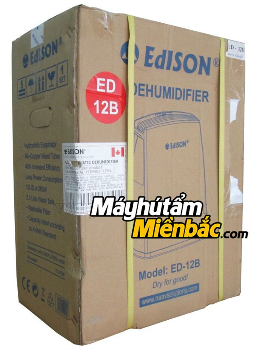 may hut am edison ed-12b(12lit/ngay) hinh 6