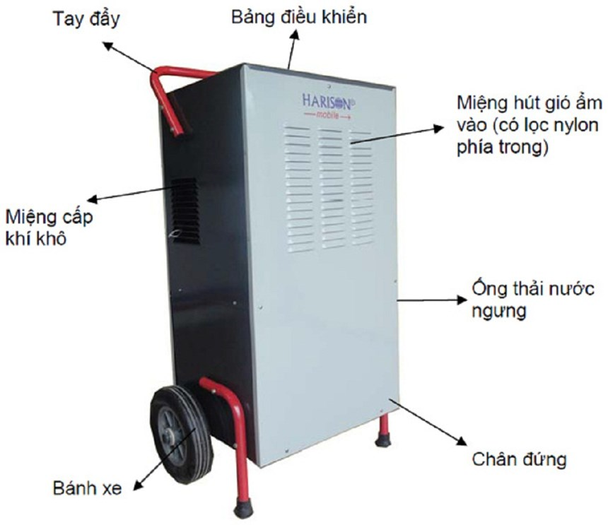 may hut am cong nghiep harison hd-100bm(100l/24h) hinh 0
