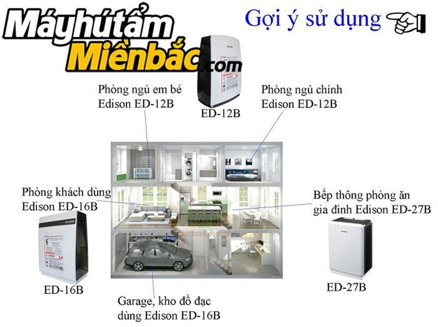 may hut am edison ed-27b(27lit/ngay) hinh 4
