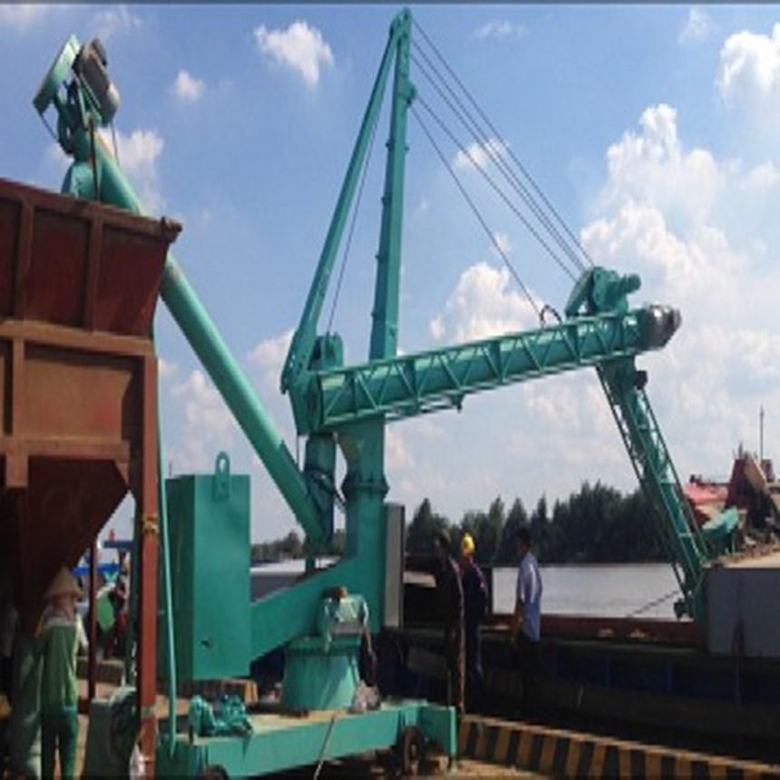 may hut xi mang cong suat lon(cement ship unloader) hinh 0