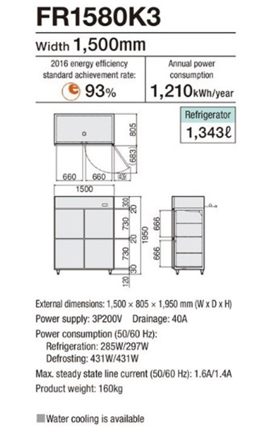 tu mat 4 canh fujimak fr1580k3 ( nhat ban) hinh 0