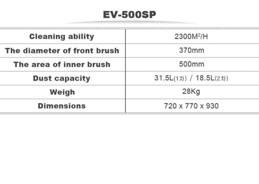 may cha san ev-500sp hinh 0