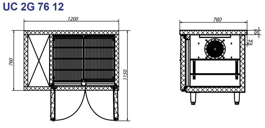 ban mat inox 2 cua turbocool 300 lit uc 2g 76 12 hinh 0